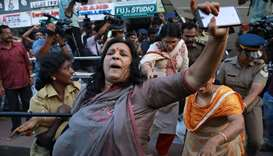 Clashes after women enter flashpoint Indian temple
