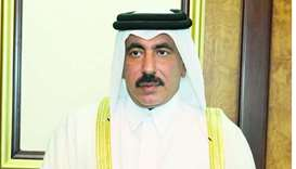 HE the Minister of Transport and Communications Jassim Seif Ahmed al-Sulaiti