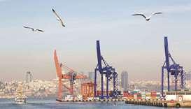 Cranes and shipping