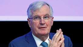 EU Chief Brexit Negotiator Michel Barnier speaks during a plenary session of EESC