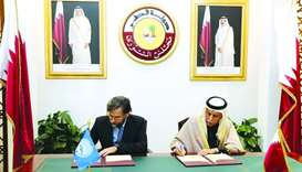 HE the Speaker of the Advisory Council Ahmed bin Abdulla bin Zaid al Mahmoud and President of PAM An
