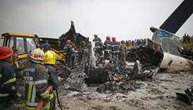 US-Bangla Airlines  crash