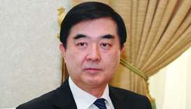 Ambassador of the People's Republic of China Li Chen