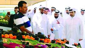 Minister praises role of local farms role in food security