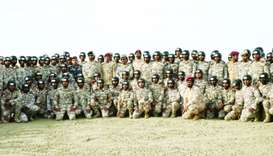 Joint Special Forces graduate 13th batch of parachute course