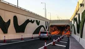 New tunnel : Gharrafat Al Rayyan - Doha
