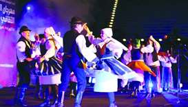 Czech traditional music and dances take centre stage at Katara.