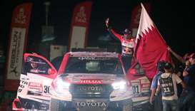 Al-Attiyah wins first stage of Dakar rally