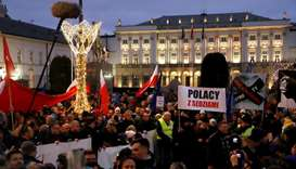 Thousands protest against Poland's plan to discipline judges