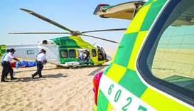 HMC Ambulance Service responded to 571 calls in Sealine this camping season