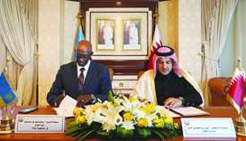 Qatar, Rwanda sign pact in legal field