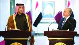 FM meets Iraqi counterpart, stresses need to reduce tensions