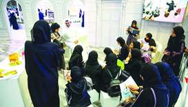 QNL pavilion at book fair attracts thousands of visitors