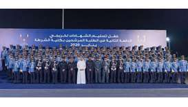 PM confers certificates at Police College graduation ceremony
