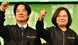 Taiwan 'already independent', Tsai warns China