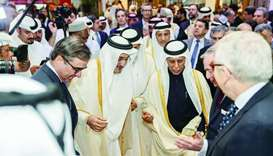 A number of dignitaries visited the French pavilion at DIBF.
