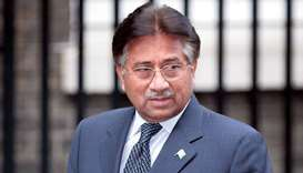 Former military ruler Musharraf
