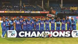 Rohit's record ton trumps Smith's as India clinch series