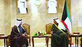 FM meets Kuwait's PM and Foreign Minister