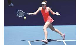 Sharapova uncertain over return after first-round loss