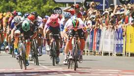Ireland's Bennett takes early lead at Tour Down Under