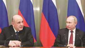 Key ministers remain in new Russian govt