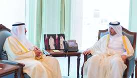 PM meets Kuwait's State Audit Bureau chief