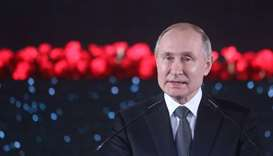 Putin calls for summit of key UNSC members