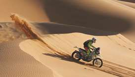 Dutch Dakar biker dies after Saudi crash