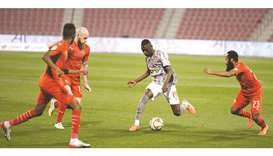 Almoez strikes brace as Al Duhail beat Al Arabi