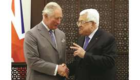 Prince Charles urges peace in Middle East