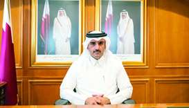 HE the President of the Administrative Control and Transparency Authority Hamad bin Nasser al-Missne