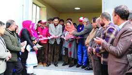 QRCS provides modern heating system at Kabul asylum