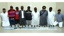 Gang of nine arrested for selling visas