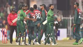 Pakistan thump sloppy Bangladesh for series win