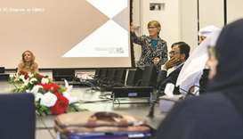 HBKU's college holds admissions drive