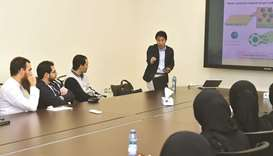 QU hosts foreign researchers