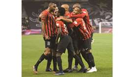 Al Rayyan players
