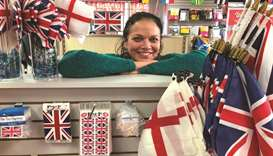 Susan Braverman, president of The Flag Shop, poses at her Vancouver store.