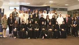 HEC Paris in Qatar's first cohort of the Specialised Master's Degree in SBUM class of 2021 with offi