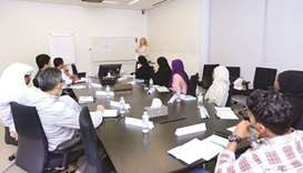 The HBKU community classes enhance communication skills.