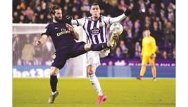 Real go top with gritty win over Valladolid