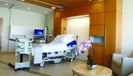 Maternity suites at Sidra Medicine.