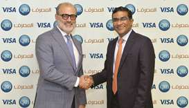 QIB, VISA collaborate to bring cardholders full control of account