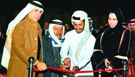 Prominent Qatari businessman Sheikh Faisal bin Qassim al-Thani and Elite Paper Recycling chairman Ab