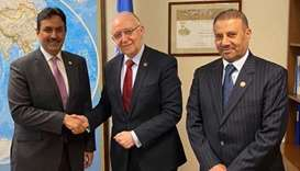 Civil aviation authority president meets ICAO council chief