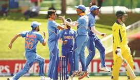 India in semis after hard-fought win over Australia
