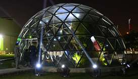 The Eco Dome at Elite Paper Recycling (ERP)