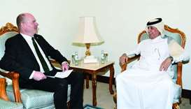 Amir receives message from Swedish PM