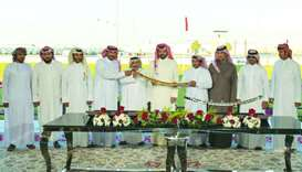 Sheikh Joaan crowns winners of HH the Father Amir Camel Racing Festival